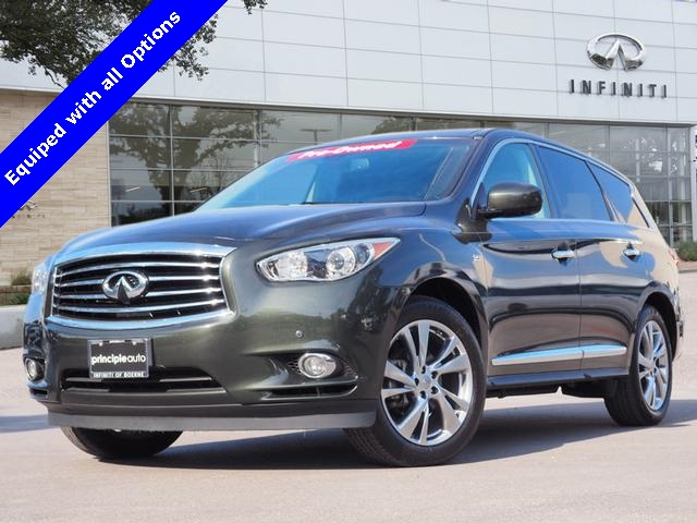 Pre-Owned 2014 INFINITI QX60 Deluxe Touring, Technology, Theater