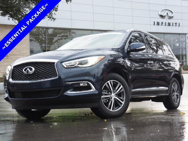 Certified Pre-Owned 2019 INFINITI QX60 LUXE, ESSENTIAL PACKAGE
