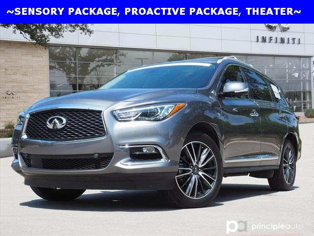 Certified Pre-Owned 2019 INFINITI QX60 LUXE, Sensory Package, Proactive, Theater