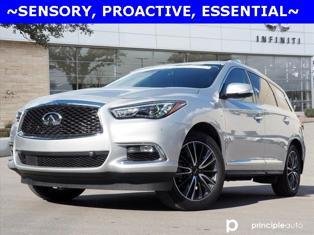 Certified Pre-Owned 2019 INFINITI QX60 LUXE, SENSORY, PROACTIVE, ESSENTIAL PACKAGES