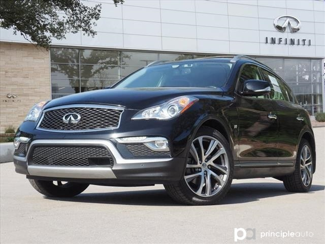 Certified Pre-Owned 2016 INFINITI QX50 Deluxe Touring, Technology