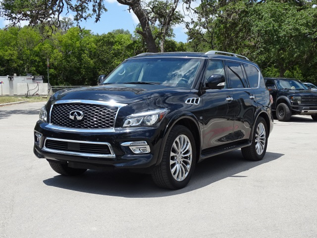 Pre-Owned 2017 INFINITI QX80 Drivers Assist, 22