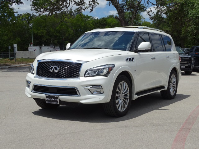 Pre-Owned 2016 INFINITI QX80 Drivers Assist, Theater, 22