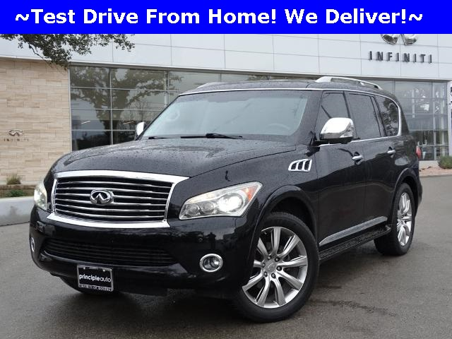 Pre-Owned 2013 INFINITI QX56 NAVIGATION, THEATER, 22