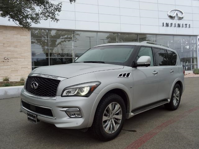 Pre-Owned 2016 INFINITI QX80 NAVIGATION, LEATHER, REMOTE START
