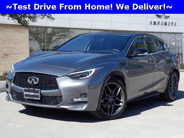 Certified Pre-Owned 2017 INFINITI QX30 Sport, Technology, Navigation, Leather