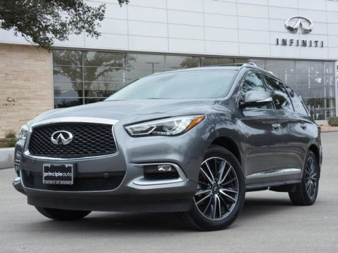 "Certified Pre-Owned 2016 INFINITI QX60 DELUXE TECHNOLGY, THEATER, 20"" WHEELS"