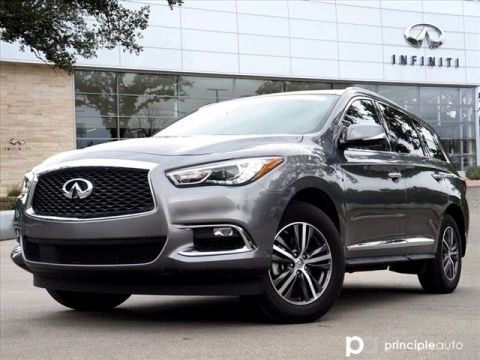 Certified Pre-Owned 2019 INFINITI QX60 LUXE, Essential, Welcome lighting