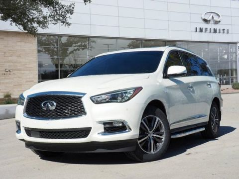 Certified Pre-Owned 2017 INFINITI QX60 Premium, Premium Plus, Running boards