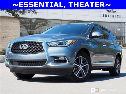Certified Pre-Owned 2019 INFINITI QX60 LUXE, Essential, Theater