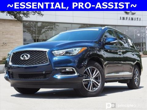 Certified Pre-Owned 2019 INFINITI QX60 LUXE, PROASSIST, ESSENTIAL