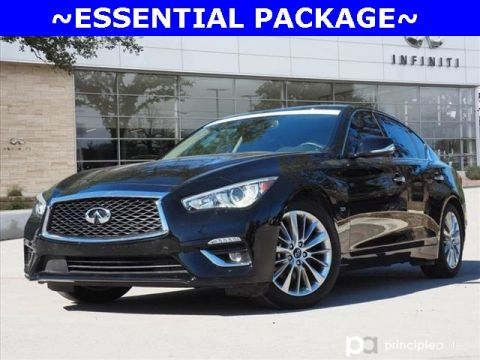 Pre-Owned 2019 INFINITI Q50 3.0t LUXE, ESSENTIAL PACKAGE