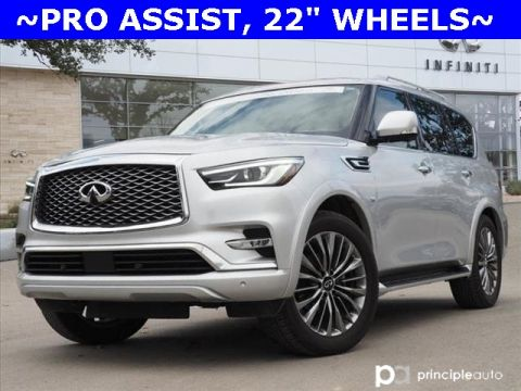 "Certified Pre-Owned 2019 INFINITI QX80 LUXE, PRO ASSIST, 22"" WHEELS"